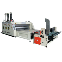 Automatic Printing and Slotting Machine