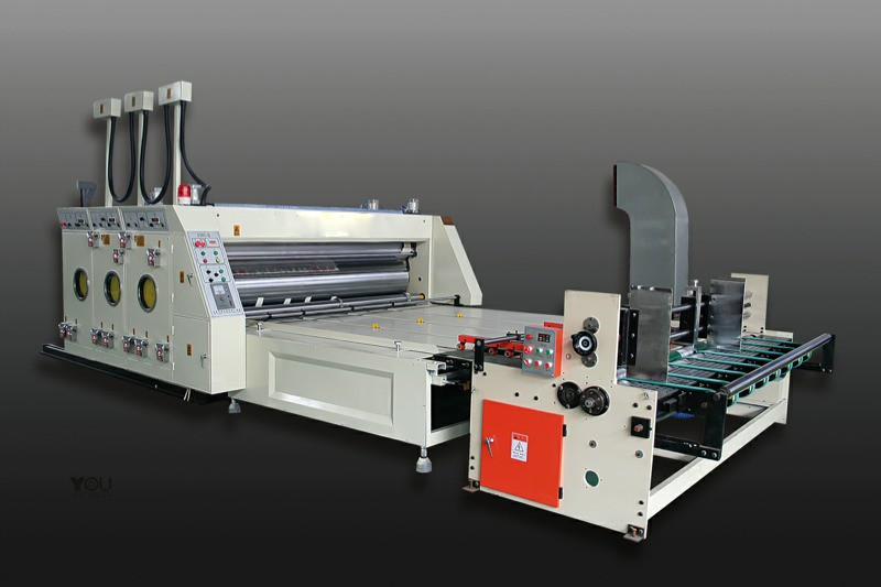 Automatic Printing and Slotting Machine